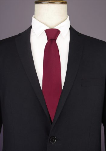 Burgundy Men's Tie