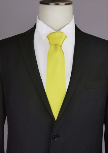 Bright Yellow Tie
