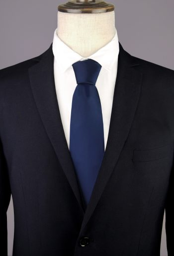 Dark Blue Men's Tie