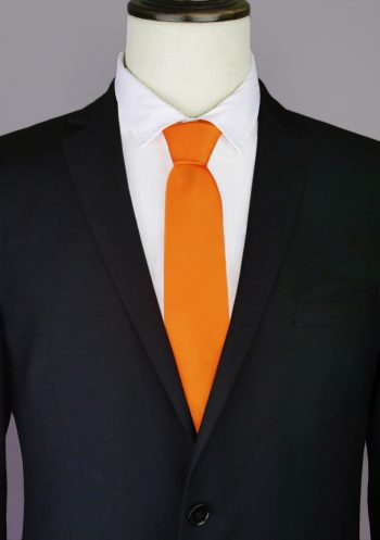 Orange Men's Tie